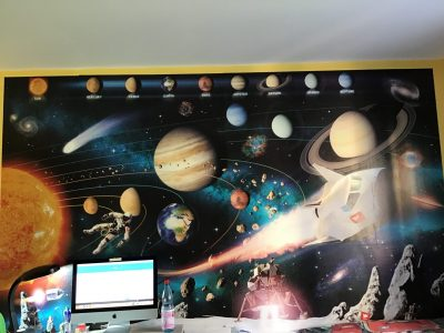 Nürnberg Sigmund-Schuckert-Gymnasium   The English names of the Planets