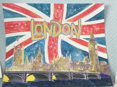 Leider hatte ich noch keine Englandfahrt aber dieses Bild errinert mich an England.  Rees  Sophia mäteling