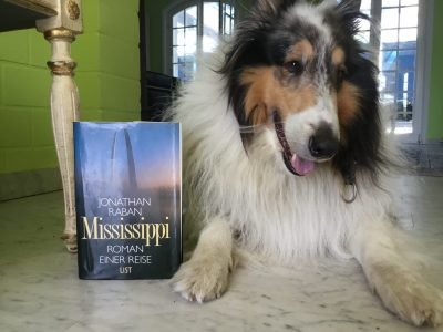 Saarlouis Max Planck Gymnasium  My dog (a collie) and the book I am currently reading.