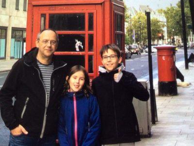 #Gymnasium Rahden  Telefonzelle in London