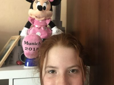 The Mini Mouse in Munich and the Empire State Building in the background