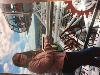 Hamburg, Julius-Leber-Schule  Auf dem Foto bin ich im London Eye während  unseres London Urlaubs zu sehen.
