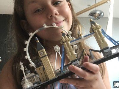 Reichsstadt Gymnasium Rothenburg  London mit Lego gebaut
