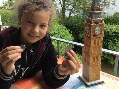 Garching Werner-Heisenberg-Gymnasium Mein Foto: Ich war schon mehrere Male in England (z.B. Nottingham, Cornwall,...) und da sind dann immer ein paar Münzen übrig geblieben. Ich finde das Englische Geld sehr schön, weil ein paar Münzen besondere Formen haben z.B. 20 Penny, 50 Penny.