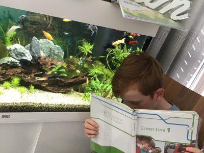 Mit den Fischen lernen