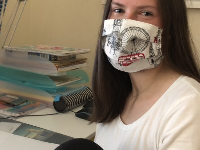 Erfurt Edith-Stein-Schule Kommentar: The Big Challenge crossed my way and my new face mask made my day.