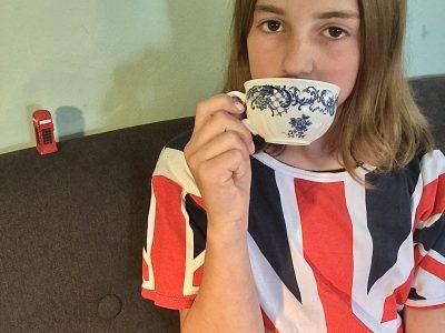Traunstein, Mädchenrealschule Sparz Meine 5 Uhr Teepause vom Englisch lernen