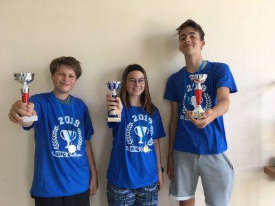Die glücklichen Gewinner der Montessori-Schule Greifswald