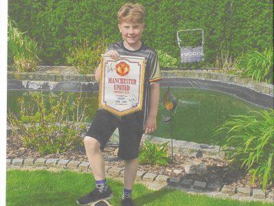 27305 Bruchhausen-Vilsen ,Gymnasium Bruchhausen-Vilsen.  Mit England verbinde  ich Fußball vom Verein MANCHESTER UNITED.