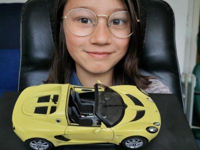 Rothenburg ob der Tauber, Reichsstadt-Gymnasium Rothenburg Lotus ist eine Automarke hergestellt in Großbritannien