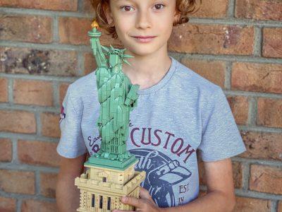 Neuss, Samuel Lohse, Nelly Sachs Gymnasium   Ich würde sehr gerne die echte Freiheitsstatue in New York sehen :-)