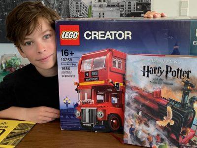 Meckenheim Konrad-Adenauer-Gymnasium  Harry Potter ist total spannend und ich freue mich schon auf das Zusammenbauen meines Busses!