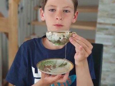 Rödermark, Nell-Breuning-Schule; Kommentar: Tea-time in England