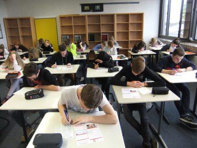 Big Challenge Day an der Gesamtschule Gescher - Jahrgang 8