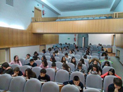 SAGRADOS CORAZONES (MIRANDA DE EBRO-BURGOS,España) 60 students took part in tis year´s Big Challenge