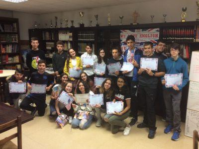 VITORIA PAULA MONTAL SCHOOL CLASE CON LA SEGUNDA CLASIFICADA DE ALAVA 2018