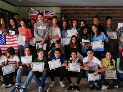 COLEGIO MILAGROSA LAS NIEVES. Avila Alumnos 3º ESO reciben sus premios