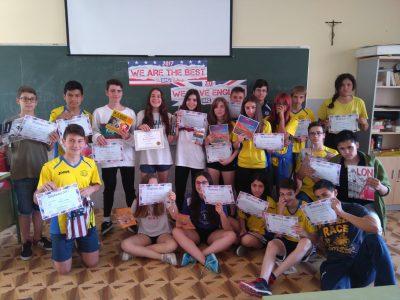Grupo de 2º A Salesianos Los Boscos de Logroño