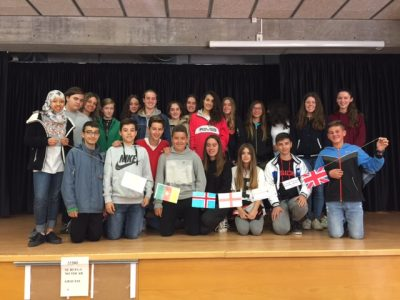 Instituto Can Roca, Terrasa. Nuestros alumnos de 2º de la ESO.