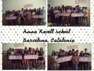 BARCELONA; Escola Anna Ravell. 2016 Contestants!