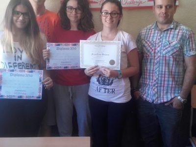 MORA-I.E.S PEÑAS NEGRAS Estos son los alumnos participantes de 4º de ESO.