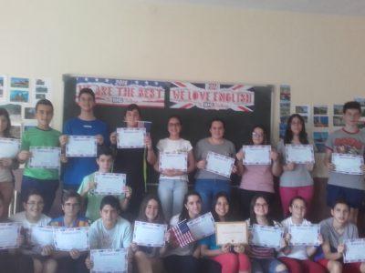 MORA-I.E.S PEÑAS NEGRAS Estos son los alumnos participantes de 2º de ESO.
