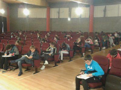 Oviedo, IES La Corredoria Alumnado de 1º y 3º ESO