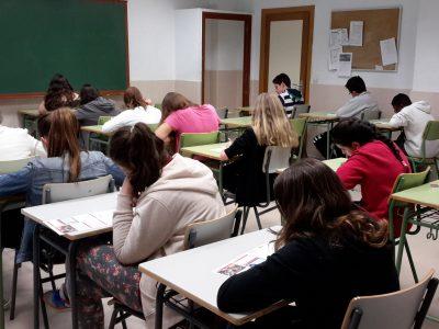 Madrid, IES Gregorio Marañón. Los alumnos de 1° de la ESO estaban nerviosos por empezar, pero en cuanto comenzaron, se dieron cuenta que podían hacerlo muy bien.