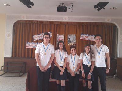 Colegio de Santa Isabel de Marchena (Sevilla) . First Prizes. Congrats !!!