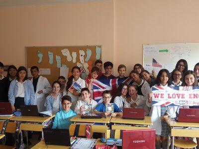 1ºA ESO. La Milagrosa ikastetxea (Laudio). We love English!