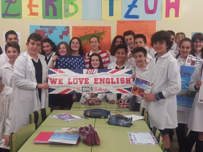 2ºB ESO. La Milagrosa ikastetxea ( Laudio). You're the best !