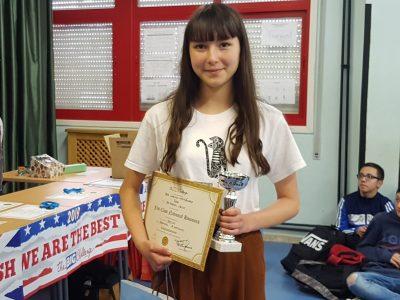 IES FERROL VELLO (FERROL) Lara Lorenzo, 3rd ESO, 1st Prize (Regional)