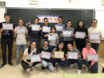 Colegio Corazón de María, Zamora ¡Enhorabuena!