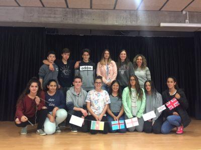 Instituto Can Roca, Terrassa. Nuestros alumnos de 3º de la ESO.