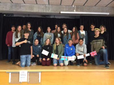 Instituto Can Roca, Terrassa. Nuestros alumnos de 4º de la ESO.