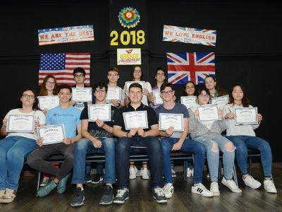 Felicidades a los participantes de 4° ESO, IES Cuatro Caminos de Don Benito (Badajoz)