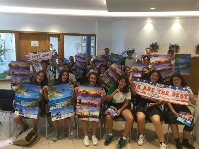 Col.legi Mestral, Islas Baleares. En el foto alumnos de 1, 2 y 3 eso con los primeros posiciones.Fue nuestro primer año y el año que viene participaremos con más alumnos seguramente! Gracias!