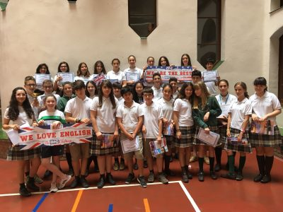 SANTA TERESA DE JESÚS -TARRAGONA Happy with the awards. We love English