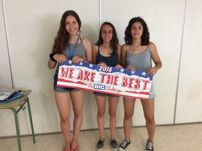 Enhorabuena a las alumnas ganadoras de 4°ESO, IES Alt Penedés, Vilafranca del Penedés, Barcelona