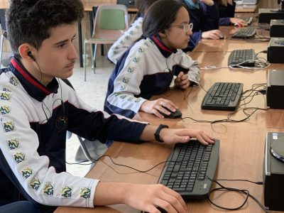 Málaga. Colegio Espíritu Santo. Fundación Victoria. Un total de 73 alumnos de 3º y 4º ESO han participado en el concurso. ¡Mucha suerte!