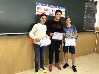 Colegio Corazón de María de Zamora. Entrega de premios 2° ESO 2018