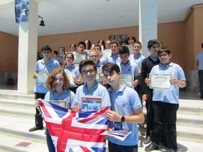 Finalistas y participantes 2° ESO Colegio Sagrada Familia de Alicante