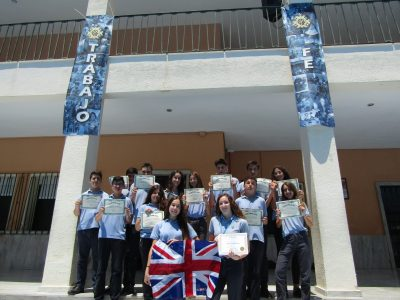 Finalistas y participantes de 3° ESO Colegio Sagrada Familia de Alicante
