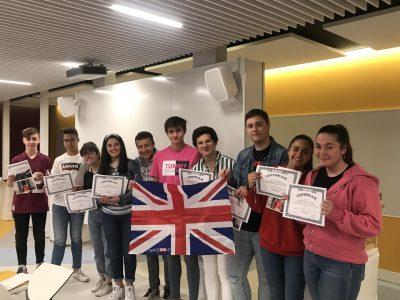 COLEGIO MILAGROSA LAS NIEVES  Alumnos 4º ESO reciben sus premios