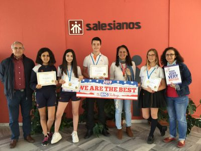 Colegio Salesianos Ramón Izquierdo, de Badajoz   Ha sido una experiencia estupenda y los alumnos han estado muy motivados en todo momento.