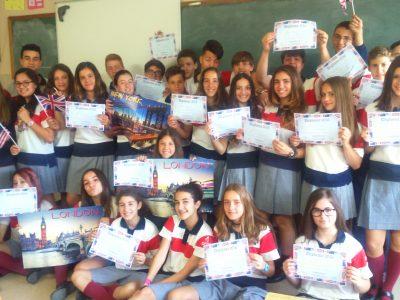 Colegio El Pilar Maristas - Zaragoza ( Primer Ciclo Eso) Congratulations guys!!!