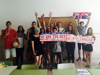 Pozuelo de Alarcón IES Camilo José Cela  Ha sido una experiencia muy buena que los alumnos han disfrutado mucho. Repetiremos!!