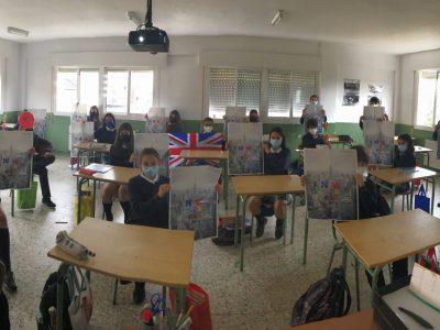 Alumnos de 1ºESO. CPR. Plurilingüe Santiago Apóstol-Ponteareas.