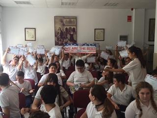 Colegio San Francisco de Asís, Cádiz entrega de premios