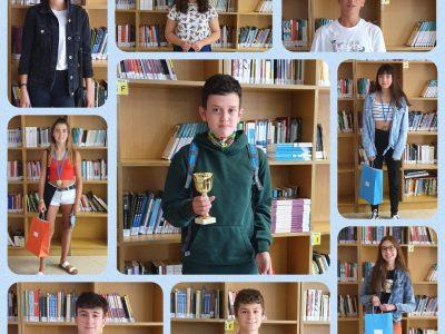 IES FERROL VELLO (FERROL) Just a few of our winners